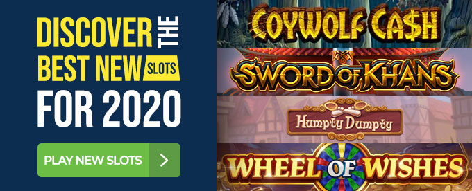 See The Latest New Online Slots in 2020