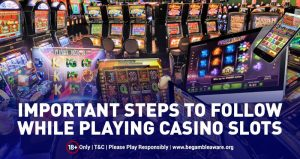 Playing Slots Safely Online – Our Guide on the Safe Way to Play!